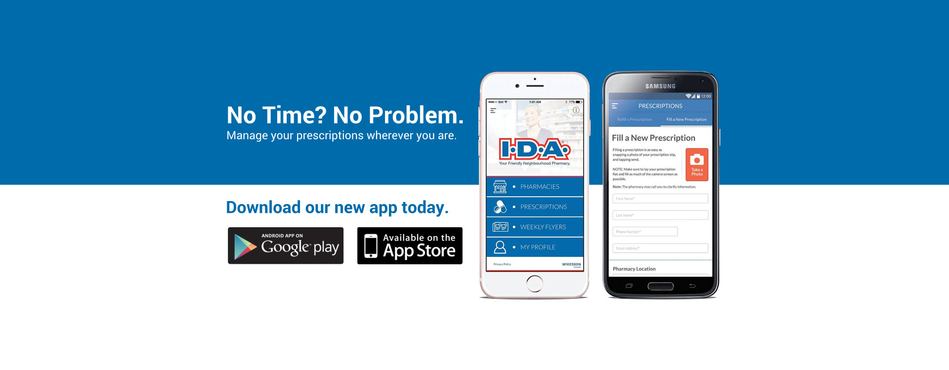 Download our new app today advertisement