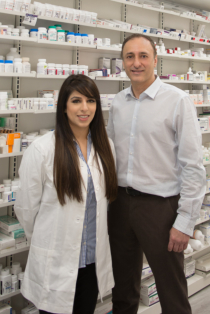 owner and a pharmacist